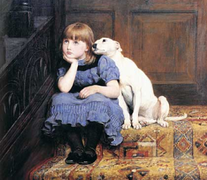 sympathy-girl-and-dog